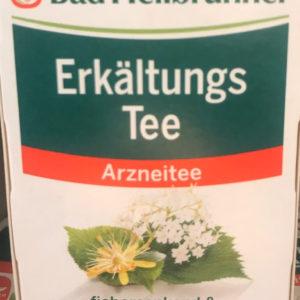 ドイツ人が風邪のとき飲むハーブティー 解熱作用