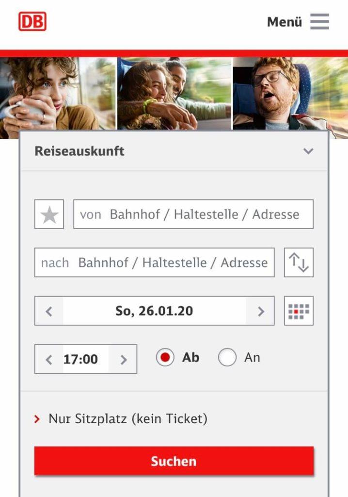 ドイツ鉄道(DB)遅延した際の対処方法 検索