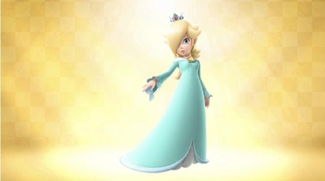 王冠をかぶったキャラ  ロゼッタ