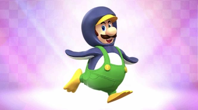 アイスボールを使えるキャラ マリオカートツアー ペンギンルイージ